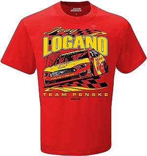 Checkered Flag Joey Logano 2019 Darlington Paint Scheme Shell Pennzoil #22 NASCAR T-Shirt