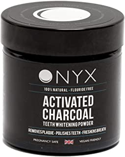 ONYX Activated charcoal teeth whitening Powder 100% nutural