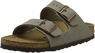 Birkenstock Unisex Arizona Stone Birkibuc Sandals - 12-12.5 2A(N) US Men