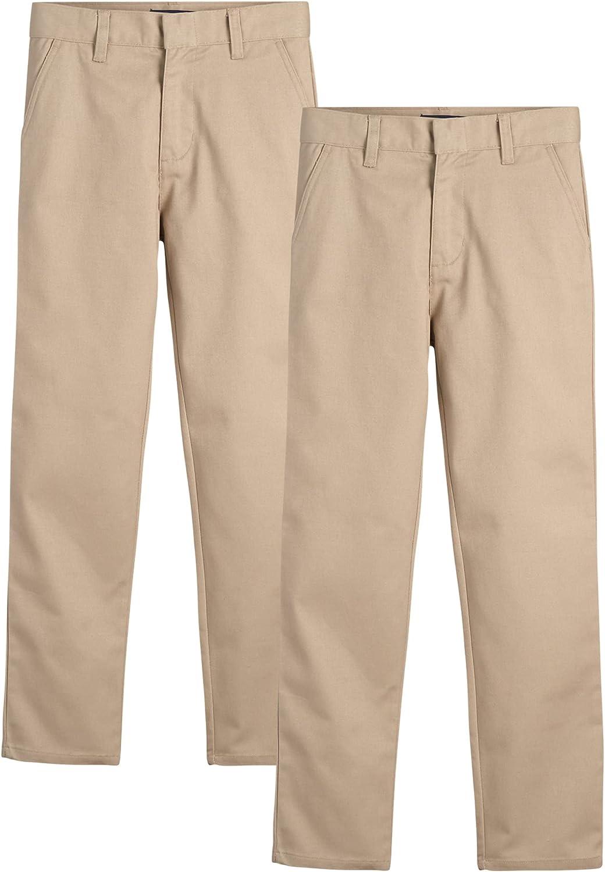 U.S. Polo Max 54% OFF San Diego Mall Assn. Boys' School Khaki Dress Pants Uniform -