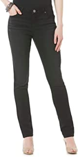Blues Womens Skinny Jeans Modern Fit Mid Rise Size 18 Black