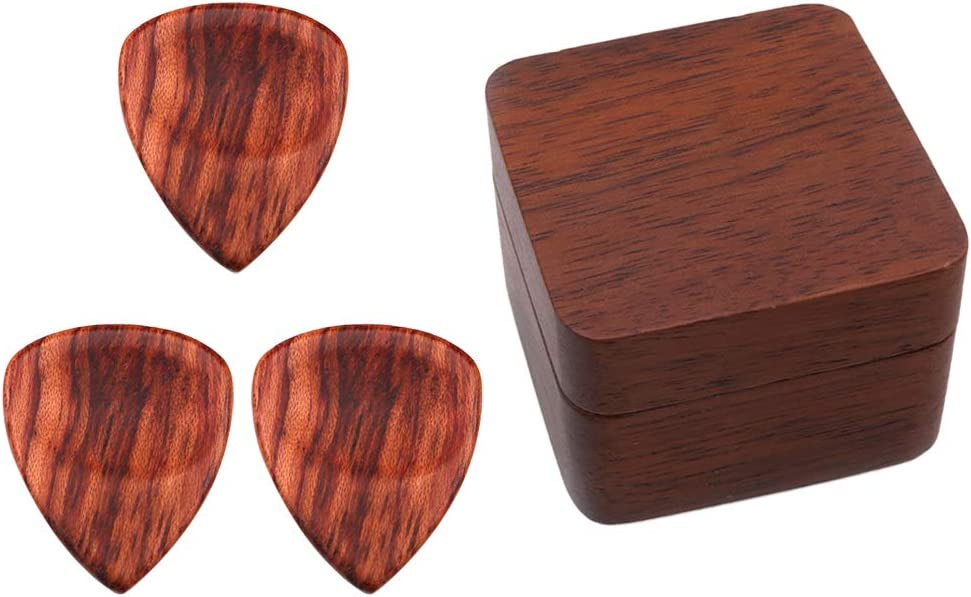 At the Memphis Mall price of surprise LoveinDIY Portable Wooden 3pcs Guitar Ukulele with Wa Bass Picks