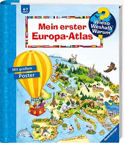 Buchseite und Rezensionen zu 'Mein erster Europa-Atlas (Wieso? Weshalb? Warum? Sonderband)' von Andrea Erne