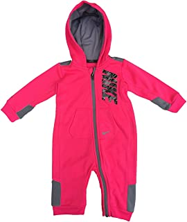 Baby Boys 1-Pc. Hooded Striped Therma-FIT Coverall