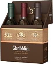 Glenfiddich Mix Pack 12 Jahre, 15 Jahre und 18 Jahre Single Malt Whisky 3 x 0.2 l