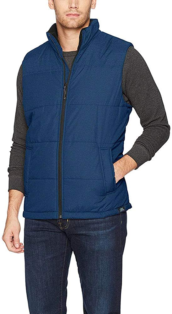 ZeroXposur Men ThermoCloud Water Resistant Lightweight Puffer Quilted Vest XL
