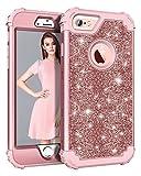 Pandawell Compatible iPhone 6s Plus Case iPhone 6 Plus Case, Glitter Sparkle...