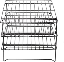 DGJ 3 Pcs Stainless Steel Wire Grill Tray, 13inch X10inch X 7inch Baking Cooling Rack for Biscuit Cake Bread Kitchen Tools dgj521
