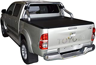 ClipOn Ute/Tonneau Cover for Toyota Hilux SR5 A-Deck (Apr 2005 to Sept 2015) Double Cab suits Factory Sports Bars and Over...