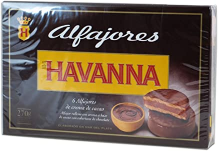 Havanna Luxury Alfajores de Cacao Milk Chocolate x 6