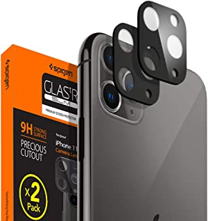 Spigen Camera Lens Screen Protector [2 Pack] designed for Apple iPhone 11 Pro / iPhone 11 Pro Max - Jet Black