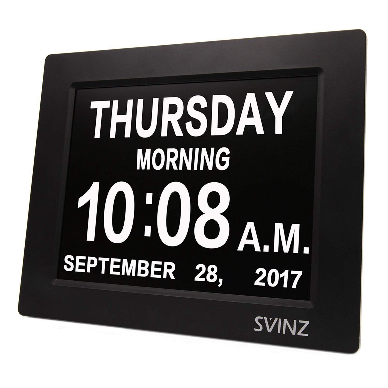 SVINZ Dementia Auto Dim Calendar SDC008W