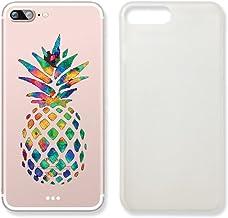 Pineapple - Carcasa de plástico Transparente para iPhone 6 y 6S