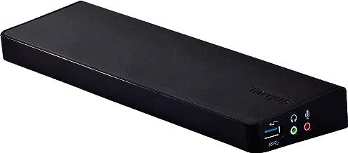 Targus ACP70USZ Universal USB 3.0 Docking Station with Dual HD Video (Renewed)