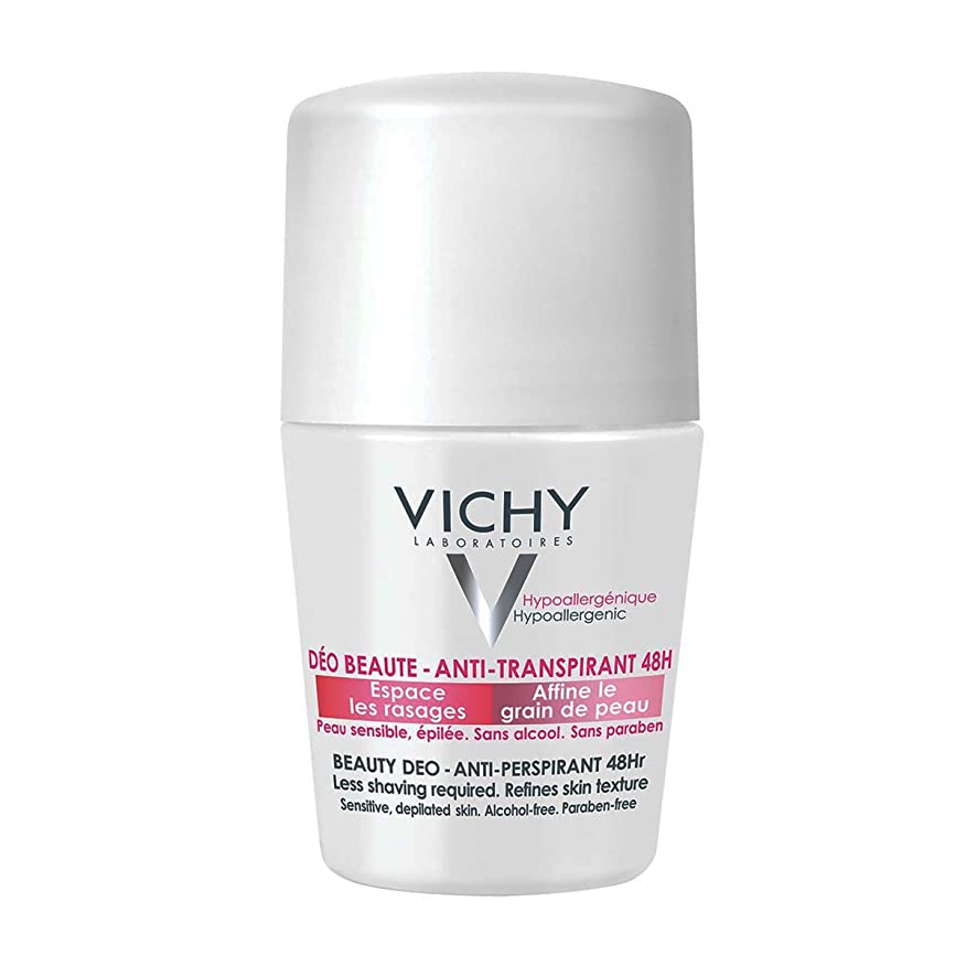 積分時々逮捕Vichy Deodorant 48h Sensitive Or Shaved Skin 50ml [並行輸入品]