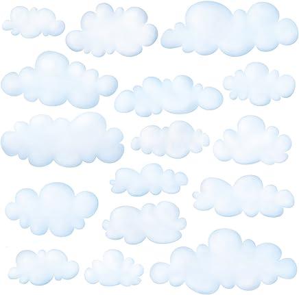 Amazon.fr : stickers nuage - Décoration murale / Décoration ...