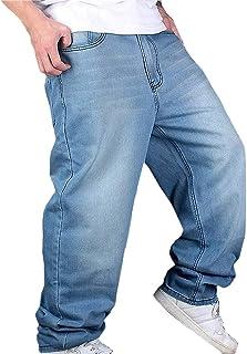 Amazon Es Pantalones Vaqueros Anchos Hombre