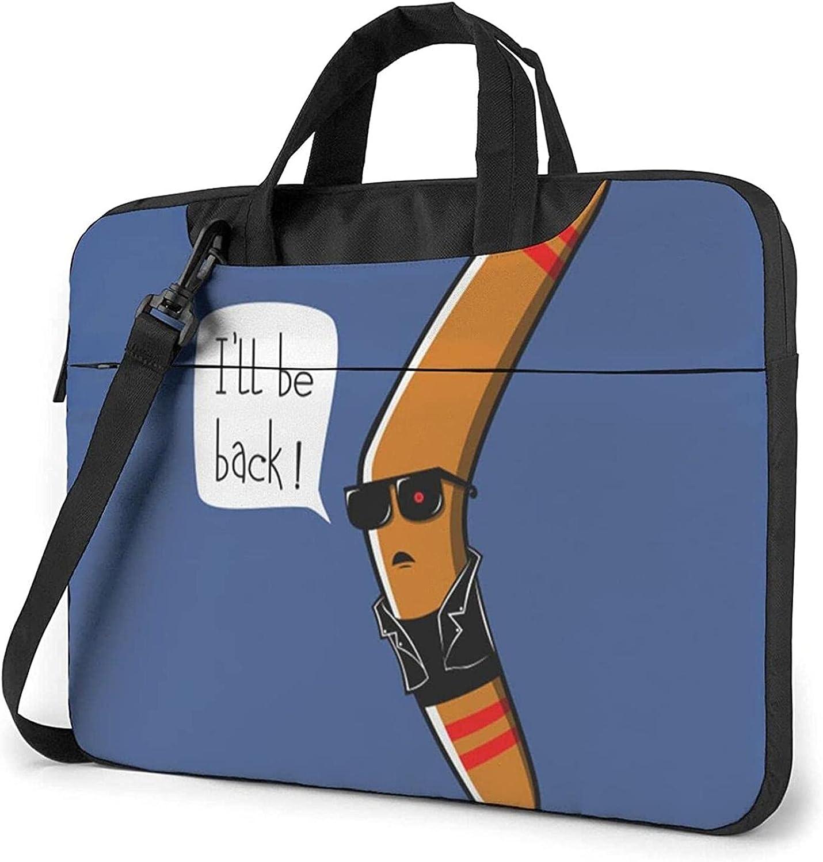 Epushow I'll Be Back Blue Laptop 14 wholesale Strap Shoulder Mes Bag Finally popular brand Inch