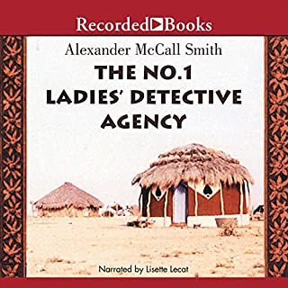 The No. 1 Ladies' Detective Agency audiobook cover art