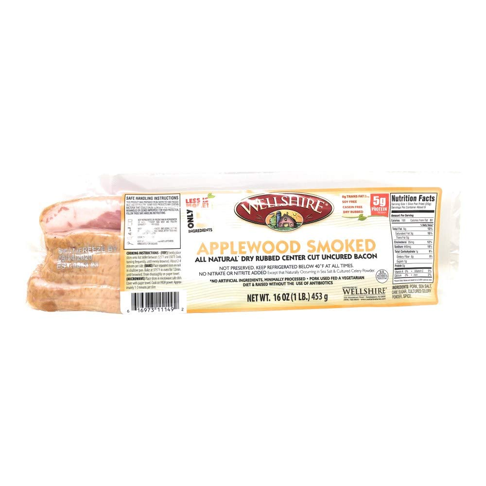 Wellshire Farms Dry Store Rubbed Applewood Pork Bacon 16 35% OFF OZ
