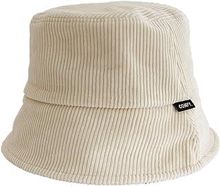 Sponsored Ad - Flipper 100% Cotton Winter Warm Soft Plain Down Brim Corduroy Bucket Hats Travel Cap for Women Men Unisex M...