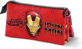 Karactermania Iron Man Armour-Quadrat Federm/äppchen Trousses Red 22 cm Rouge