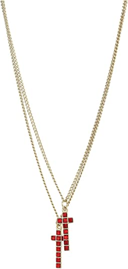 DSQUARED2 - Cross Necklace