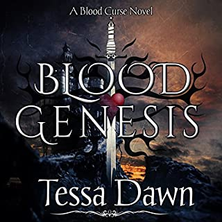 Blood Genesis audiobook cover art