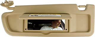 SAILEAD Left Driver Side Sun Visor for Honda Civic 83280-SNA-A01ZB 2006 2007 2008 2009 2010 2011 Sun Visor Assembly (Beige)