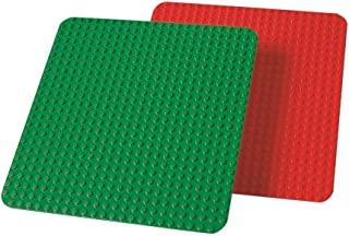LEGO レゴ デュプロ 大型 基礎板 赤 緑 9071 【国内正規品】 V95-5900
