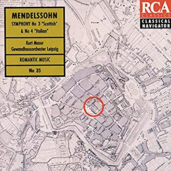 Mendelssohn: Symphonies 3+4