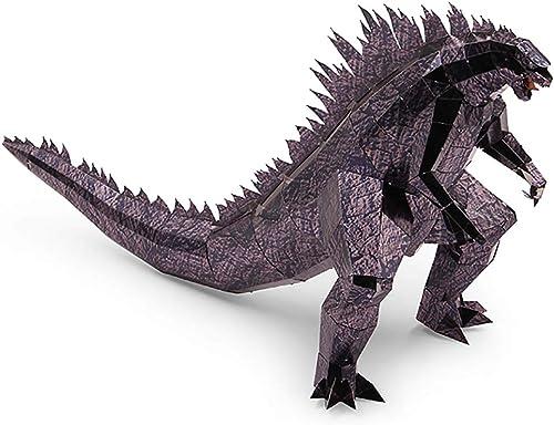 GJQASW 3D Puzzle, 3D dreidimensionale Metall Puzzle Monster Ornamente DIY Hand zusammengebaut kreative Puzzle Geschenk tragbare zusammengebaute Familie Ornamente
