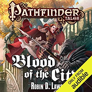 Blood of the City audiobook cover art