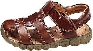 GETUBACK Boys Genuine Leather Sandals Soft Sole (Toddler/Little Kid/Big Kid)