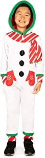 Tipsy Elves Kid's Snowman Jumpsuit - Holiday Onsie for Boys and Girls