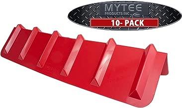 (10 Pack) Red Corner Protector Vee Shaped/V Edge Guard - 8