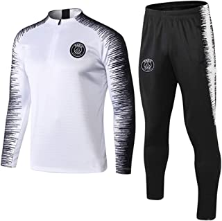 Men's Football Sweatshirt, Winter Paris Saint-Germain Football Club PSG Football Suit, Paris Football Sportswear, Adult and Children's Football Training Jersey