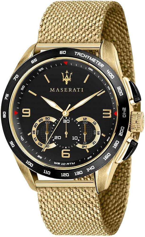 Orologio da uomo, collezione traguardo, con movimento al quarzo e funzione cronografo, in acciaio R8873612010