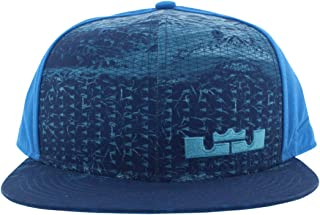 Lebron Rubber City True Hat Snapback Light Photo Blue/Omega/Black 729496-435