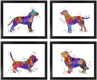 Best watercolor dog art Reviews