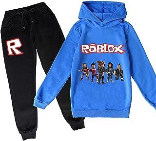 ZKDT Roblox - Sudadera con capucha clásica y cómoda para niños y niñas de 3 a 14 (estilo 6,160)