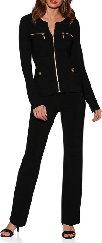 Boston Proper - Beyond Travel - Women's Plus Size Knit Set Chic Coordinates