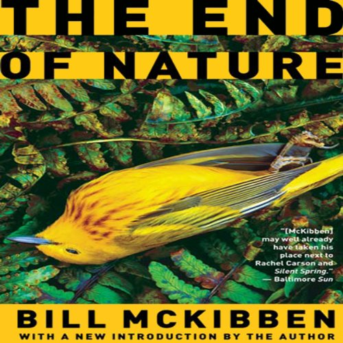 The End of Nature audiobook cover art