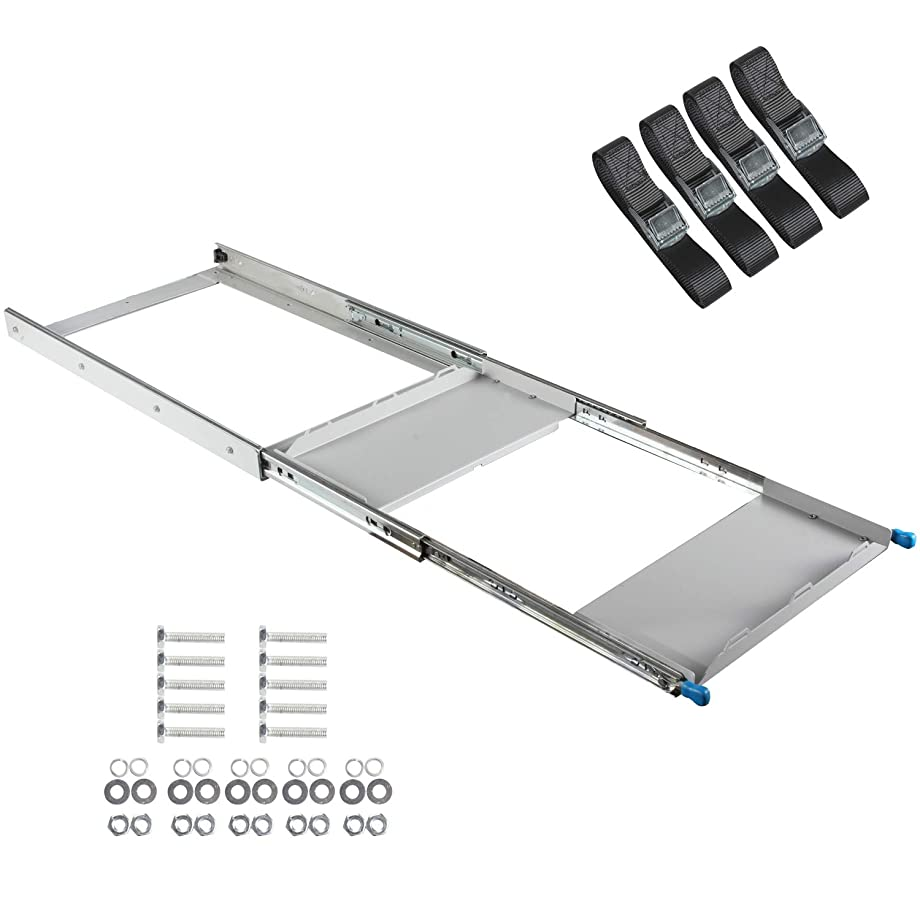 ALL-TOP 4X4 Fridge Slide (30 in) - Suit 30 to 50L Fridges/Coolers (Straps Included) - 3 Year Warranty - Galvanized Never Rust