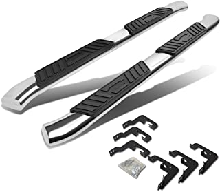 For Chevy Silverado/GMC Sierra Extended Cab 5 inches Curved Side Step Nerf Bar Running Board (Chrome)