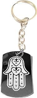 Hand of Mary Mother Jesus Christian Christ Religion Religious Tattoo Logo Symbols - Metal Ring Key Chain Keychain