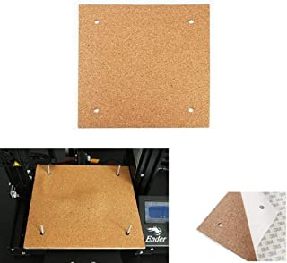 LHQ-HQ 3D-printer accessoires, Verwarmde Bed 235 * 235 * 3mm broedplaats Thermische verwarming pad isolatie katoen met Cor...