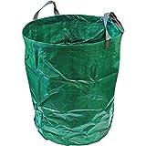 CampTeck U6666 300 litros Bolsa de Jardín Compatible con Residuos Polipropileno Resistente Saco de Jardín Reutilizable
