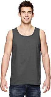 Fruit of the Loom Adult 5 oz. HD CottonÖ Tank-Charcoal Grey-S