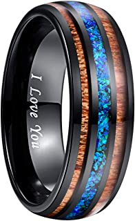 mens hawaiian wedding rings